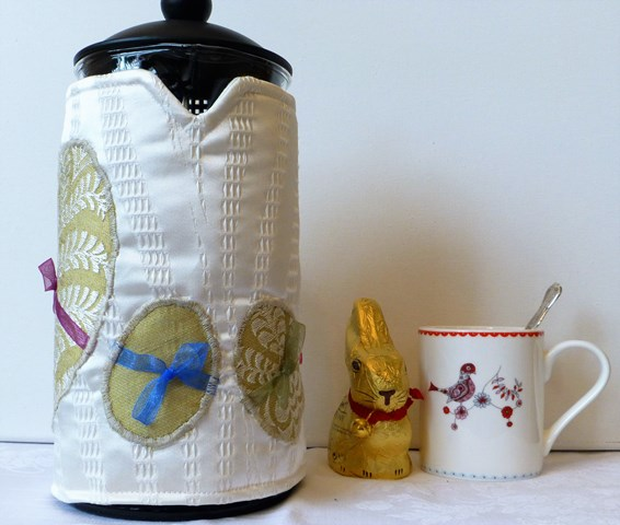 Easter Egg surprise 8 cup cafetiere