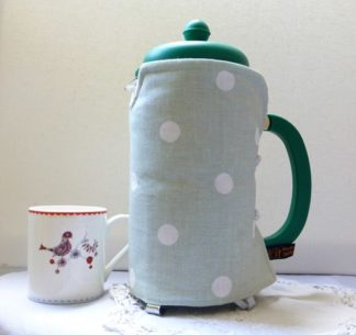 Pastel Green 8 cup cafetiere