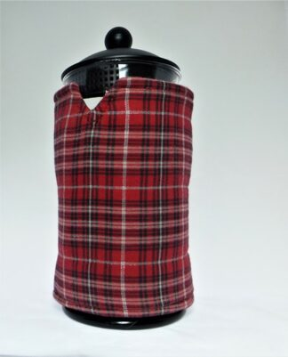 Tartan French Press Cover