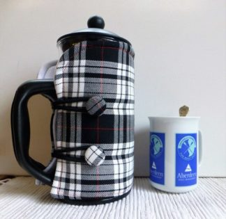 Black and White Tartan