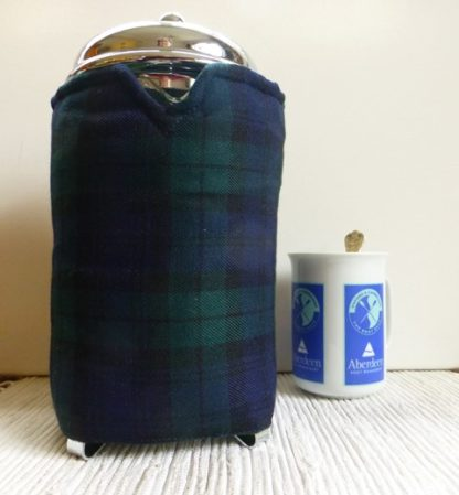 tartan 12 cup french press cover