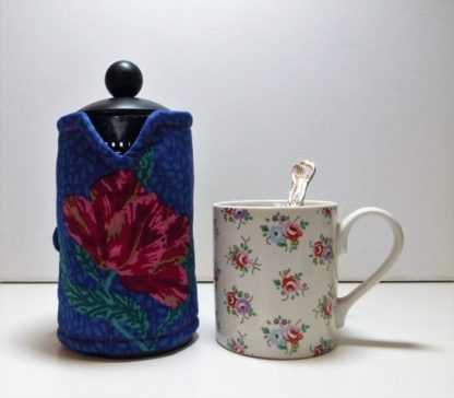 Ruby 3 cup cafetiere cover