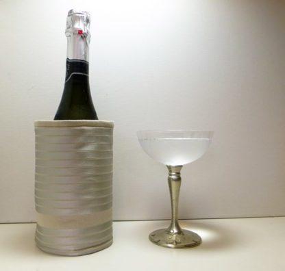 pale gold bottle butler