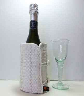 cool white bottle butler