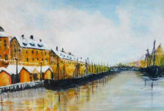Copenhagen Harbour Painting