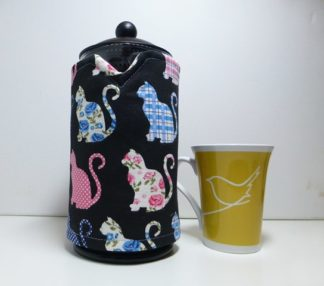 love cats 8 cup cafetiere cover