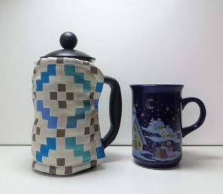 Silk 3 cup Cafetiere Cover