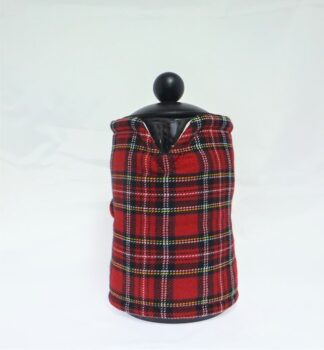 Red Tartan French Press