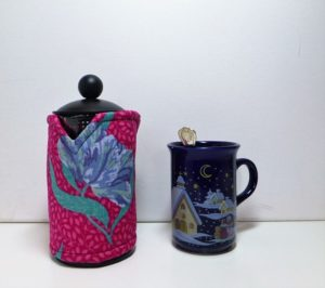 Blue Hibiscus 3 cup