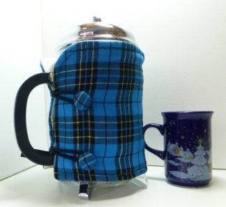 Bright Blue Tartan 12 cup