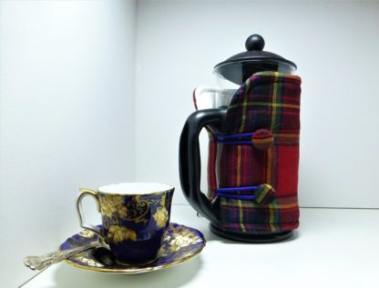 Tartan Cafetiere Cover