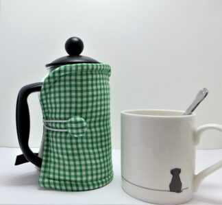 Fresh Gingham 3 cup French Press