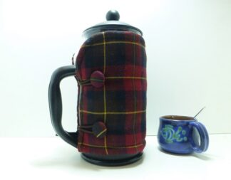 Gorgeous Tartan French Press