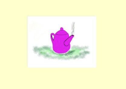 Teapot digital Art
